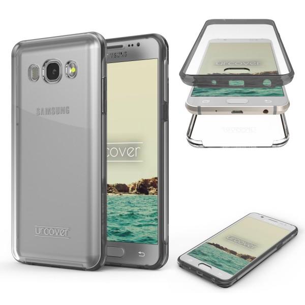 Samsung Galaxy J7 (2016) Case 2017 Bumper Handy Schutz Hülle 360° Rundumschutz