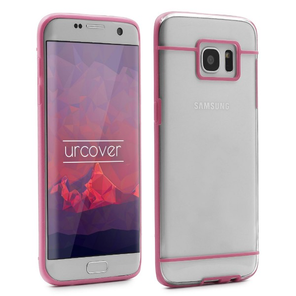 Urcover® Samsung Galaxy S7 Edge Schutz Hülle Slim Hard Back Case Cover Tasche