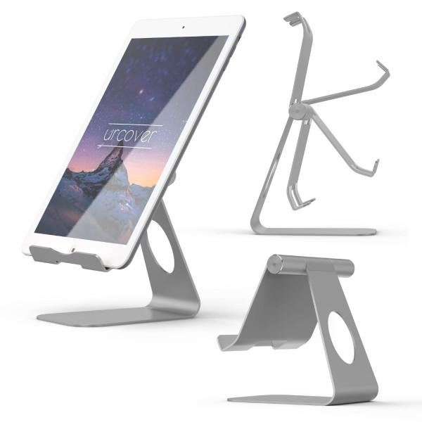 Urcover® Aluminium Handy Halter Smartphone Ständer Tisch Halter Halterung