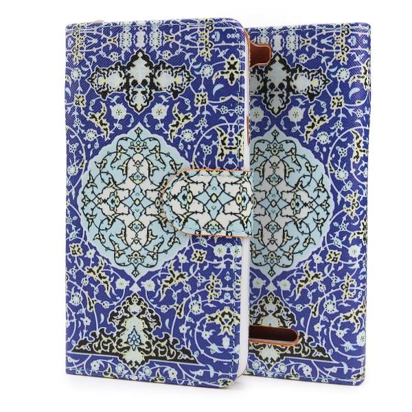 Urcover® Wiko Rainbow Kunststoff Schutzhülle Case Cover Tasche Flip Wallet Etui