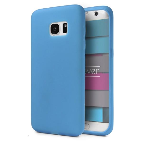 Urcover Samsung Galaxy S7 Edge Handy Tasche TOUCH CASE Display Schutz Hülle Schale Etui Cover Rundum