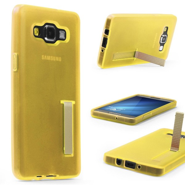 Urcover® Samsung Galaxy A3 (2015) Schutz Hülle mit Standfunktion Soft Case Cover