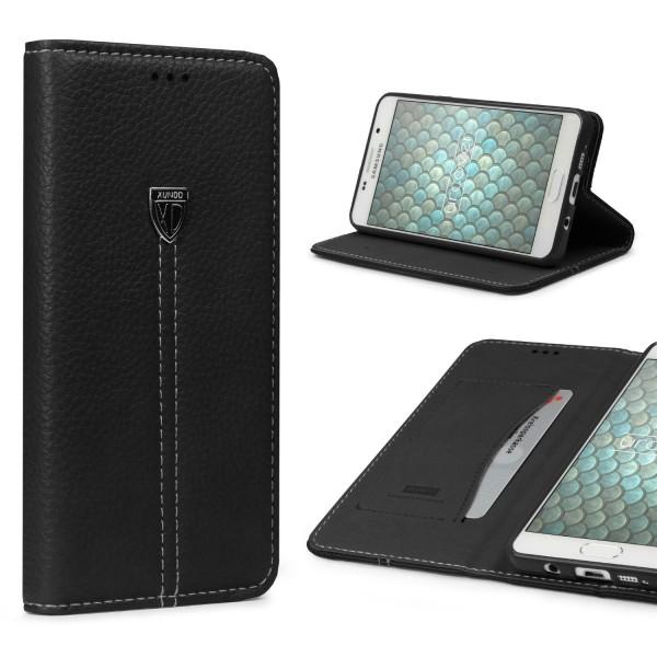 Samsung Galaxy A5 (2016) Schutz Hülle Wallet Case Flip Cover Kartenfach Schale