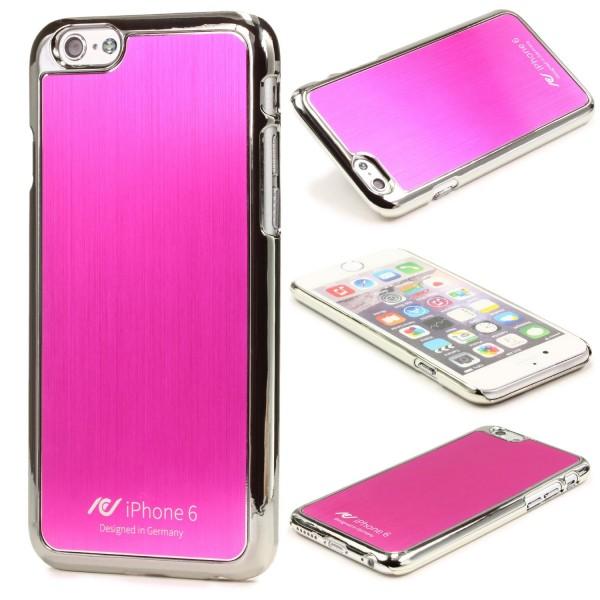 Urcover® Apple iPhone 6 / 6s Alu Back Case Schutz Hülle Cover Case Etui Schale