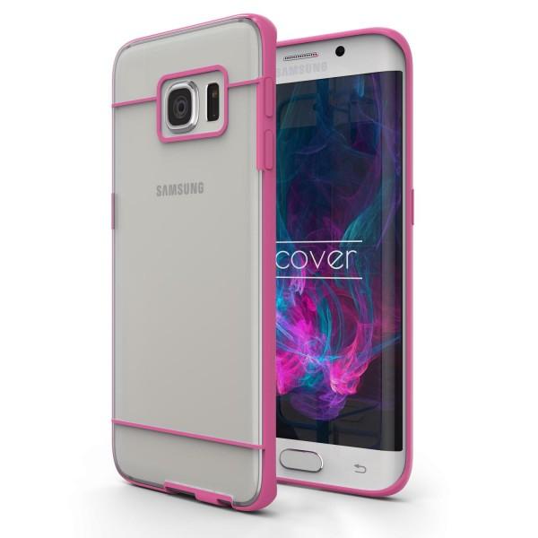 Urcover® Samsung Galaxy S6 Edge Schutz Hülle Slim Hard Back Case Cover Tasche