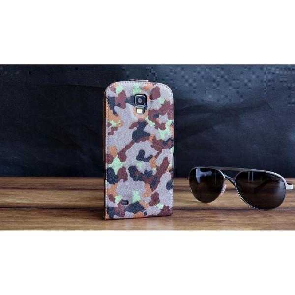 Urcover® Samsung Galaxy S4 Active Tarn Schutz Hülle Case Cover Etui Flip Wallet