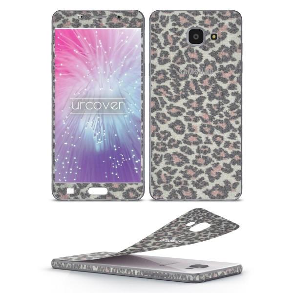 Samsung Galaxy A5 (2016) Glitzer Folie Aufkleben Regenbogen Farbig Diamond Bling