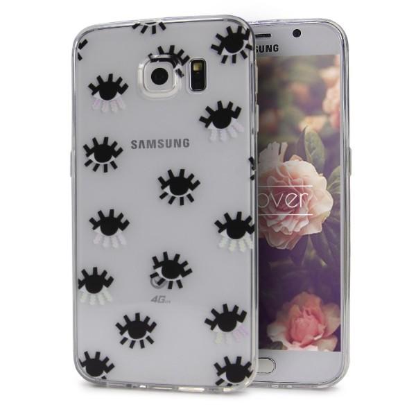 Urcover® Samsung Galaxy S6 Design Back Case Kameraschutz Schutzhülle Cover Etui