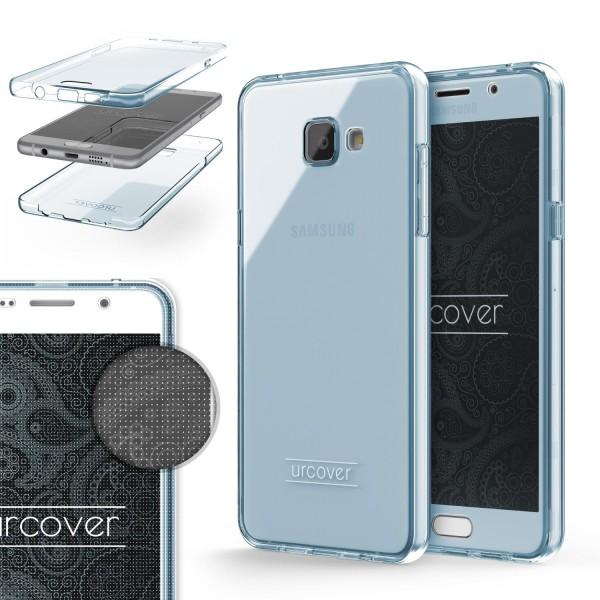 Samsung Galaxy A7 (2016) TPU Case 360 Grad Schutz Hülle Etui Cover Touch Case