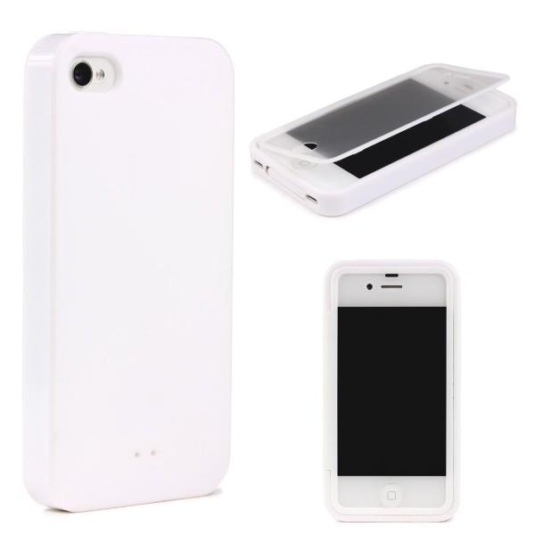 Apple iPhone 4 / 4s TOUCH CASE Display Schutz Hülle Schale Rundum Cover Tasche