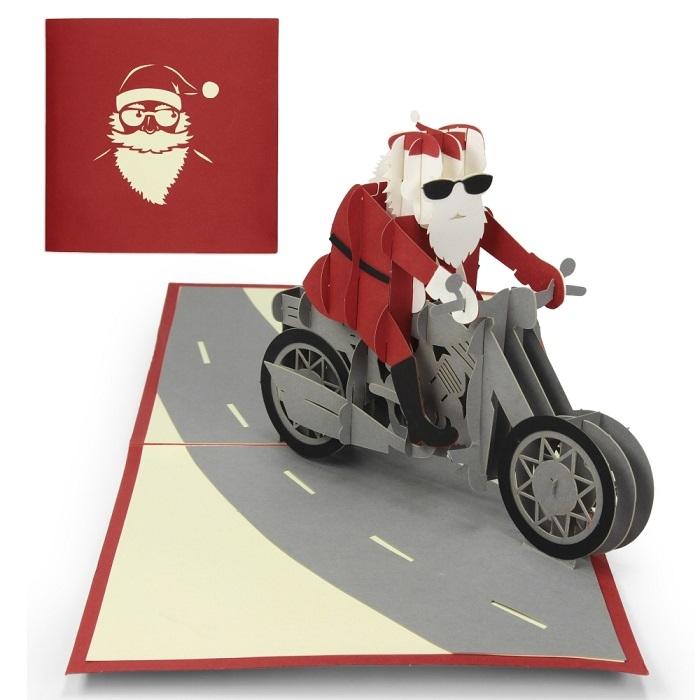 3D Pop Up Weihnachtskarte
