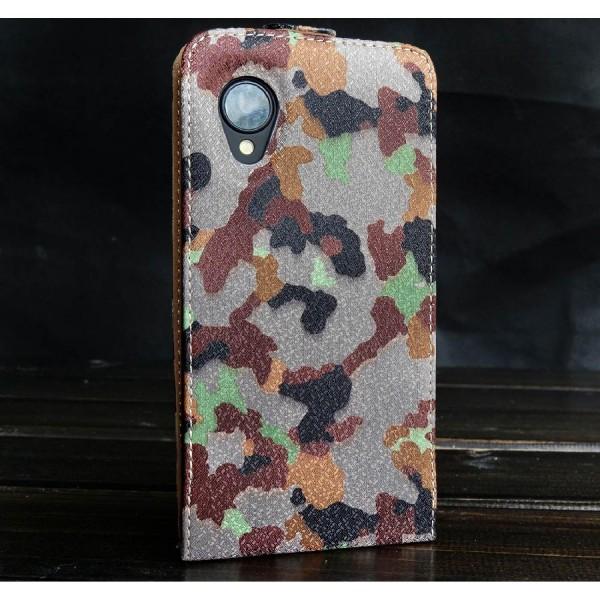 Urcover® LG Nexus 5 Tarn Optik Schutz Hülle Case Cover Etui Flip Wallet