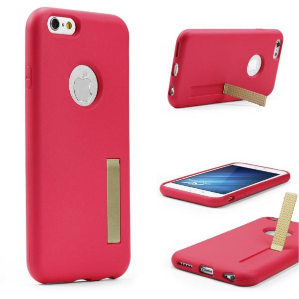 Urcover® Apple iPhone 6 Plus / 6s Plus Schutz Hülle mit Standfunktion Soft Case