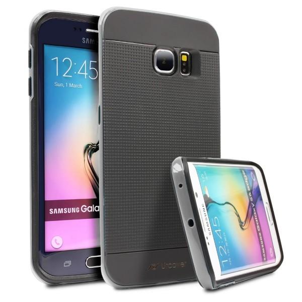 Samsung Galaxy S6 Edge Case Slim Handy Schutz Hülle Case Cover Hybrid Tasche