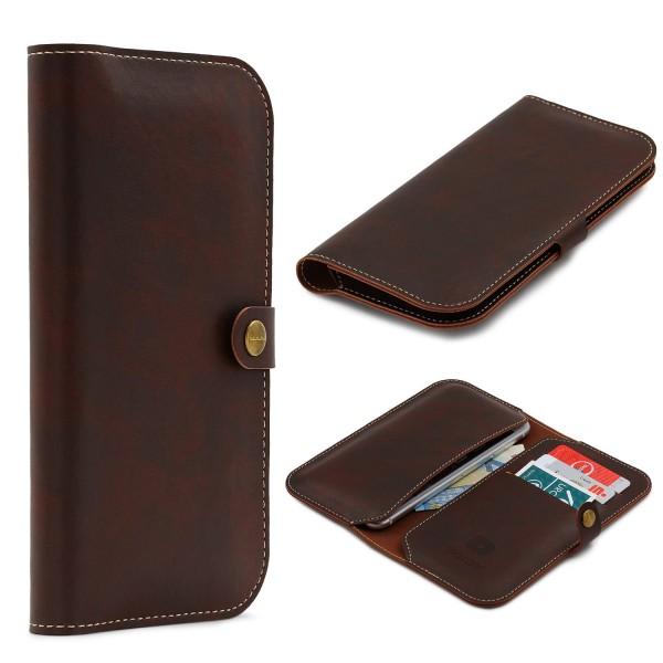 Urcover® Apple iPhone 6 / 6s Schutzhülle Kartenfächer Portmonee Cover Case