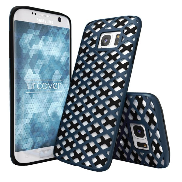 Urcover® Samsung Galaxy S7 Edge Handy-Hülle 2-teilig [PC/TPU] Dual Layer Cover