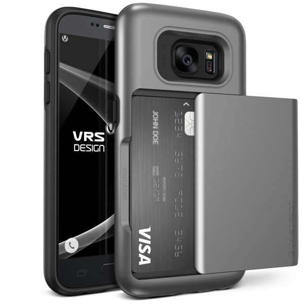 VRS Design® Samsung Galaxy S7 TPU Back Case Cover Schutz Hülle Standfunktion