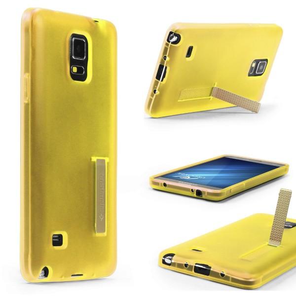 Urcover® Samsung Galaxy Note 4 Schutz Hülle mit Standfunktion Soft Case Cover