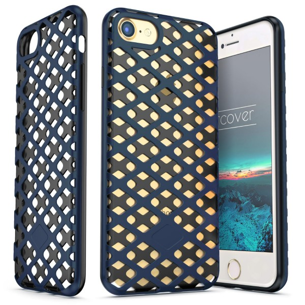 Urcover® Apple iPhone 7 Handy-Hülle 2-teilig [PC/TPU] Dual Layer Cover Etui