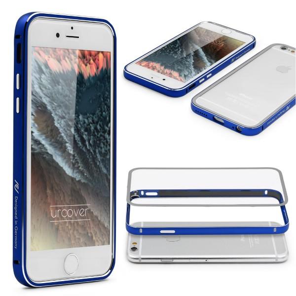 Urcover® iPhone 6 Plus / 6s Plus Alu Bumper Handy Schutz Hülle Hard Case Cover
