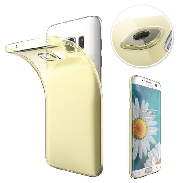 Samsung Galaxy S7 Edge Slim Backcase Kamera Schutz Hülle Silikon Cover Case Etui