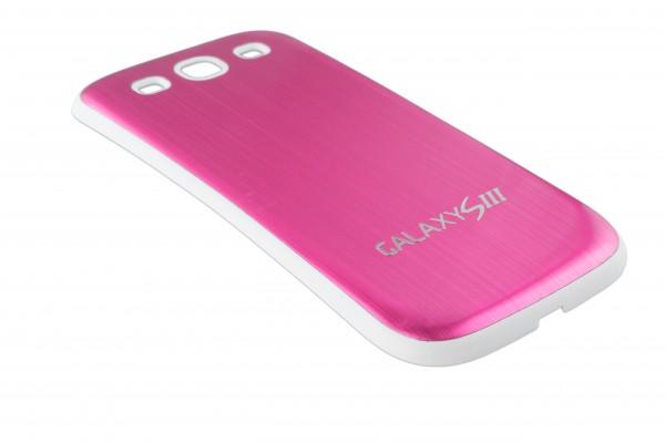 Samsung Galaxy S3 Aluminium Akku Deckel Battery Cover Abdeckung Alu Case Bumper