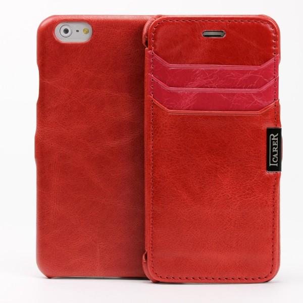 Urcover® Apple iPhone 6 / 6s Schutzhülle Wallet Kartenfach Case Cover Etui Tasche
