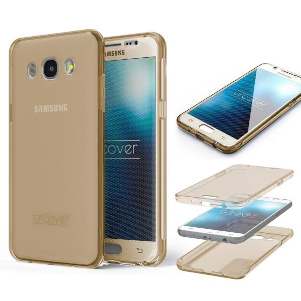 Samsung Galaxy J3 (2016) TPU Case 360 Grad Schutz Hülle Etui Cover Touch Case