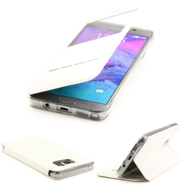 Urcover® Handy Schutz Hülle für Samsung Galaxy Note 5 Flip Case Wallet Tasche