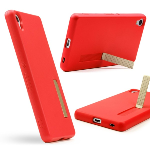 Urcover® Sony Xperia Z4 Schutz Hülle mit Standfunktion Soft Case Cover Tasche