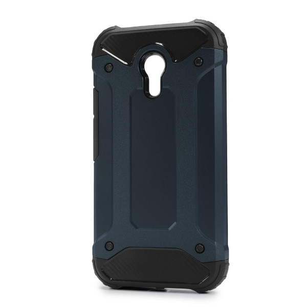Motorola Moto G2 OUTDOOR Schutz Hülle TOP Cover Back Case Carbon Optik Etui