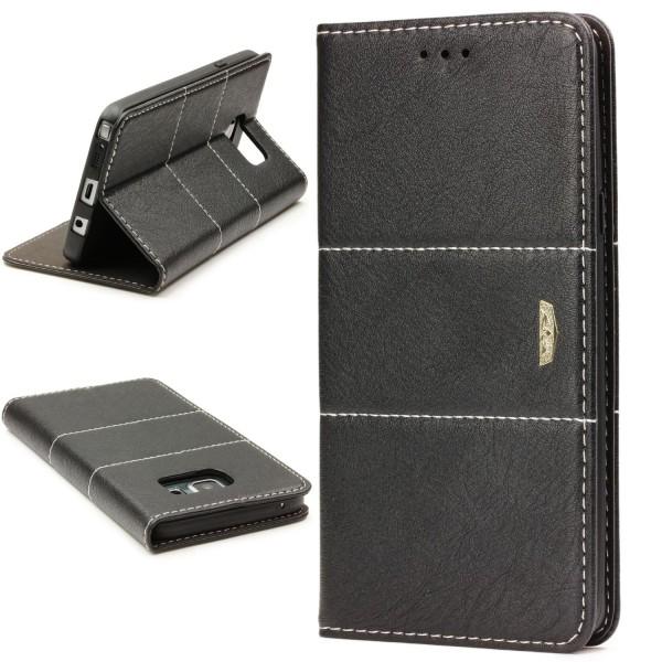 Urcover® Samsung Galaxy Note 5 Wallet Schutz Hülle Stand Cover Kartenfach Etui