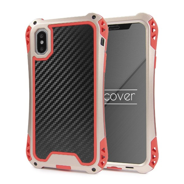 Apple iPhone X Alu OUTDOOR Schutz Hülle Case Schale Cover ULTRA SHOCKPROOF