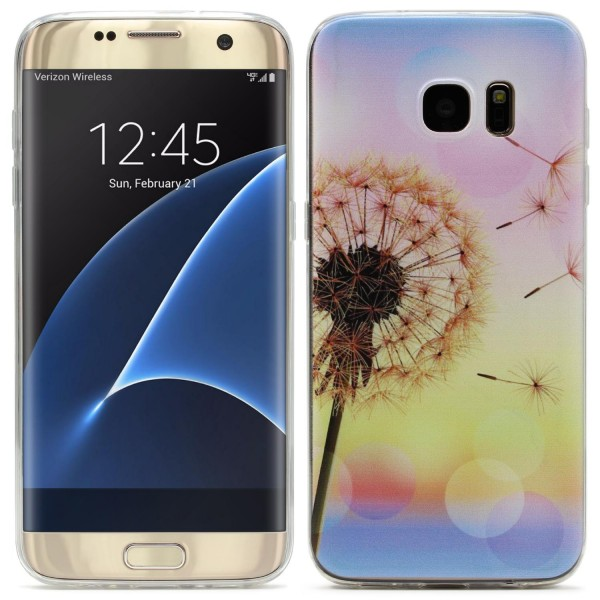 Samsung Galaxy S7 Edge Ultra Slim Soft Backcase Kamera Schutz Hülle Cover Case